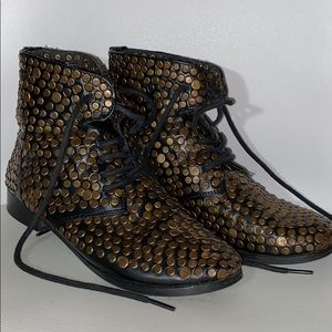 Urban outfitters studded boots
